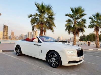 Rolls Royce Dawn Price in Dubai - Convertible Hire Dubai - Rolls Royce Rentals