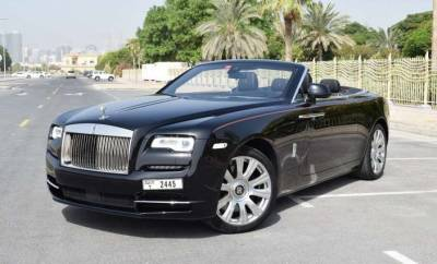 Rolls Royce Dawn Price in Sharjah - Luxury Car Hire Sharjah - Rolls Royce Rentals
