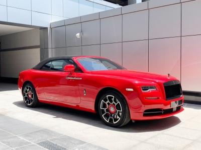 Rolls Royce Dawn Black Badge Sportive Edition Price in Dubai - Convertible Hire Dubai - Rolls Royce Rentals