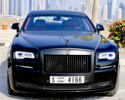 Rolls Royce Ghost Series 2 Price in Sharjah - Luxury Car Hire Sharjah - Rolls Royce Rentals