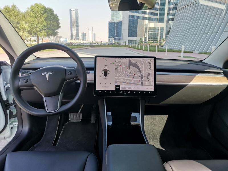 Rent Tesla Model 3 2020 car in Dubai: Day, week, monthly ...