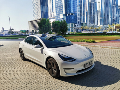 Tesla Model 3 Price in Dubai - Electric Hire Dubai - Tesla Rentals