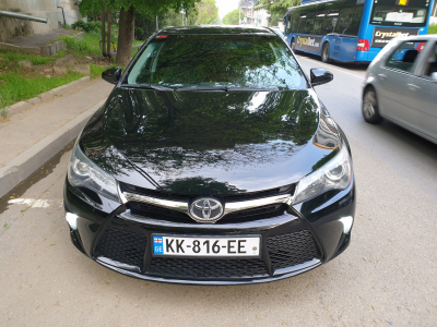 Toyota Camry Price in Tbilisi - Sedan Hire Tbilisi - Toyota Rentals