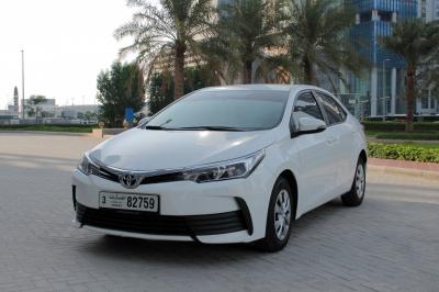 Toyota Corolla Price in Sharjah - Sedan Hire Sharjah - Toyota Rentals