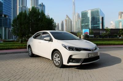 Toyota Corolla Price in Ajman - Sedan Hire Ajman - Toyota Rentals