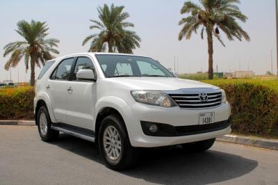 Toyota Fortuner Price in Dubai - SUV Hire Dubai - Toyota Rentals