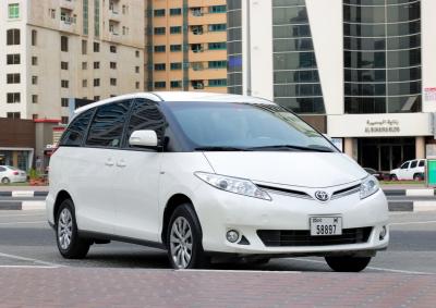 Toyota Previa Price in Dubai - Minivan Hire Dubai - Toyota Rentals