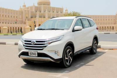 Toyota Rush Price in Ajman - SUV Hire Ajman - Toyota Rentals