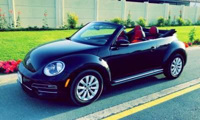 Volkswagen Beetle Turbo Convertible Price in Dubai - Compact Hire Dubai - Volkswagen Rentals